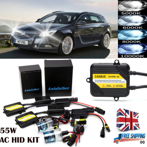 9006 9012 HIR2 HID Xenon Light Conversion Kit  AC CANBUS For Vauxhall Insignia
