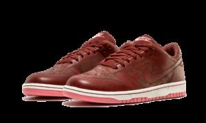 Nike Men's Dunk Low Skateboarding 1 Piece Brown Leather Skateboarding Low Shoes 312424 221 Size 8 e6f876