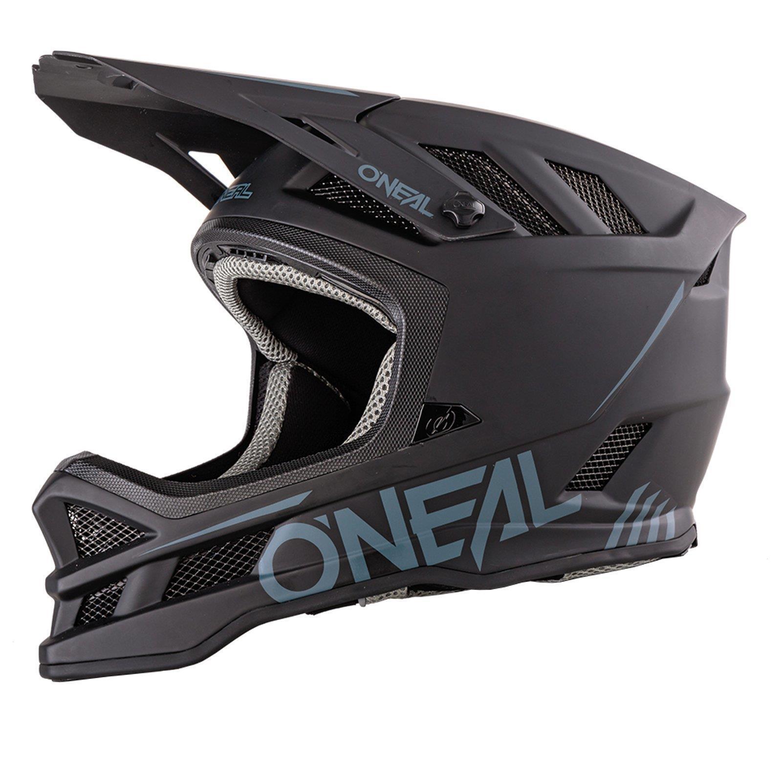 ONeal Blade Solid black Helm All Mountain Bike Enduro MTB Downhill DH Fahrrad