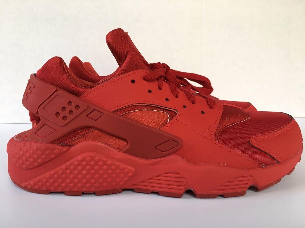 Nike Air Huarache Run iD NikeiD Red University Red NikeiD Leather Homme 777330 982 Homme  Chaussures de sport pour hommes et femmes d1422f