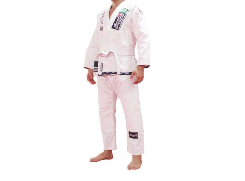 BJJ GI SKANDA Brazilian Jiujitsu Uniform White Jiu jitsu suit Jujitsu
