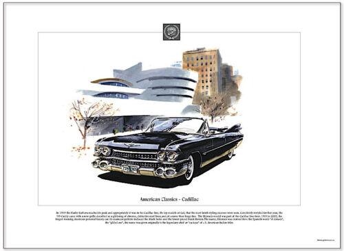 1959 CADILLAC American Classics Fine Art Print US American Picture Image