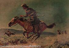 Pony Express Stamp Creator&Artist Harold Von Schmidt*+Dixon, Dunn, Ingel, Meyers