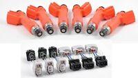 Fit Nissan Skyline Rb26dett Rb26 R33 R34 R32 Denso 850cc Fuel Injectors 6
