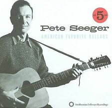 American Favorite Ballads, Vols. 1-5 [Box] by Pete Seeger (Folk) (CD,...