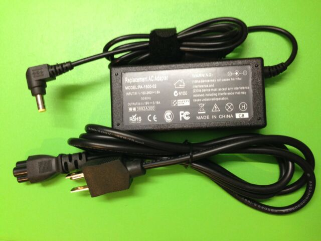 3.16A AC adapter charger for Dell Part number # ADP-60BB CF719 310-5422 310-6499
