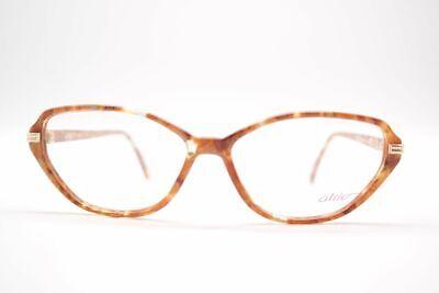 Atrio Vintage 248 55 [] 14 130 Marrone Trasparente Ovale Occhiali Eyeglasses Nos-mostra Il Titolo Originale