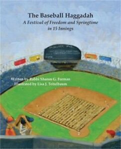 The-Baseball-Haggadah-A-Festival-of-Freedom-and-Springtime-in-15-Innings-Paper