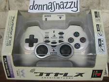 HORI CORDLESS WIRELESS PLAYSTATION 2 3 PS PS2  PS3 CONTROLLER ANASIN 2 TURBO