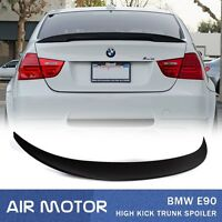 La Stock Unpainted For Bmw E90 High Kick Performance Type 4d Trunk Spoiler