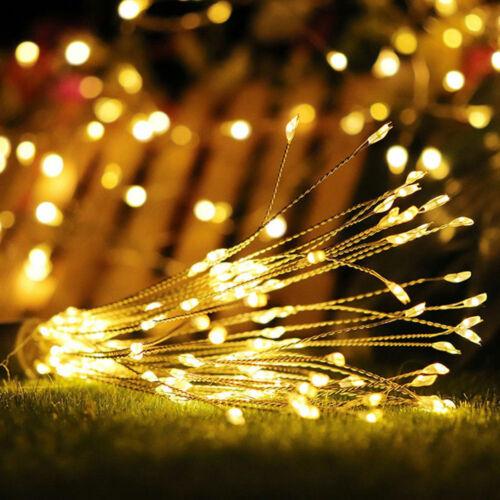 120//180 LED Remote Lichterkette Weihnachten Außen Aussetzung Beleuchtung Dekor