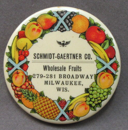 1920's SUNKIST ORANGE & LEMON Milwaukee WI celluloid pocket price calculator