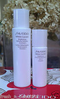 Shiseido White Lucent 2pc Travel Kit Refining Softener Protective Moisturizer
