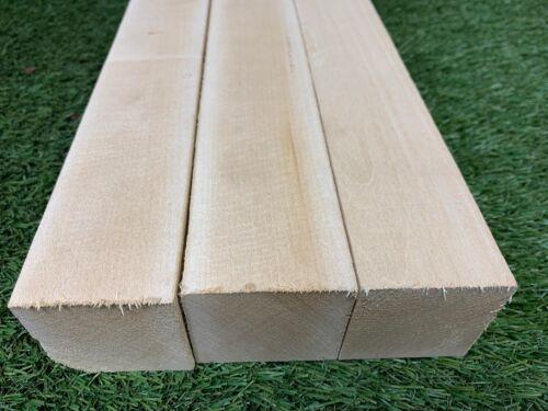 "3 LOT OF 3 PCS Turning 2/"" x 3/"" x 12/"" Basswood Carving Wood Blocks Craft"