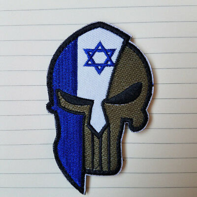 Israel Country Flag Israeli FLAG EMBROIDERED HOOK PATCH Morale Badge