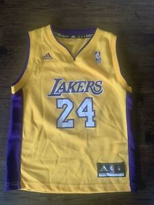Kobe Bryant #24 LA Lakers Jersey Youth Preschool Med (5/6) Adidas ...