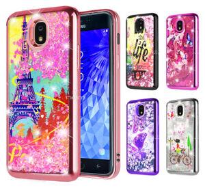 Details about For Samsung Galaxy J3 2018 / J3V / J3 Emerge 2018 Bling  Glitter Sparkle Case
