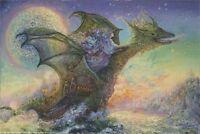 Dragon Ship - Josephine Wall Art Poster - 24x36 Shrink Wrapped - Fantasy 31258