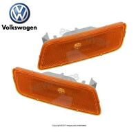 Vw Gti 2.0 T 10-14 Pair Set Of Left & Right Front Side Marker Lights Genuine on Sale