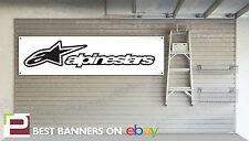 Alpine Stars Motorsport Workshop Garage Banner