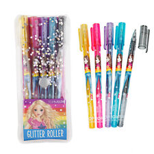 Depesche Top Model 5 Glittergelstifte Glitzer Stifte Gelstifte Glitter Roller