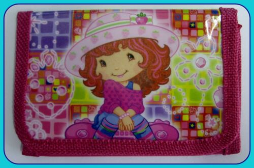 Brandnew Strawberry Shortcake boys girls Wallet coin Purse tri-fold