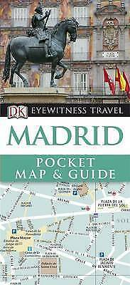 DK Eyewitness Pocket Map and Guide: Madrid-ExLibrary