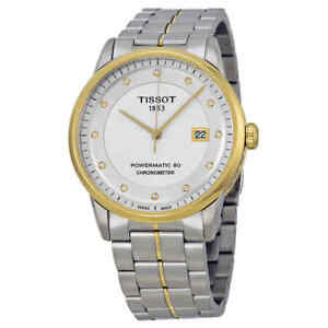 Tissot Luxury Automatic Silver Dial Men's Watch T086.408.22.03