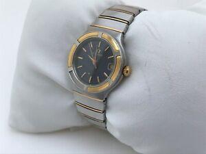 Eterna-Ladies-Watch-Silver-Gold-Tone-Date-Calendar-Analog-Wrist-Watch-Read-Desc