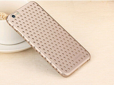 New Ultrathin Unique Design Stars Ventilate Cover Case for iPhone 6 6S & Plus