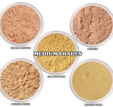 Mica Free Mineral Powder Foundation Makeup w/Aloe Vera - Medium Shades Samples