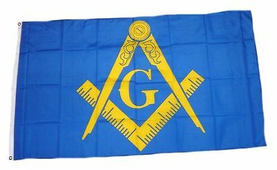 Fahne / Flagge Freimaurer NEU 90 x 150 cm Flaggen