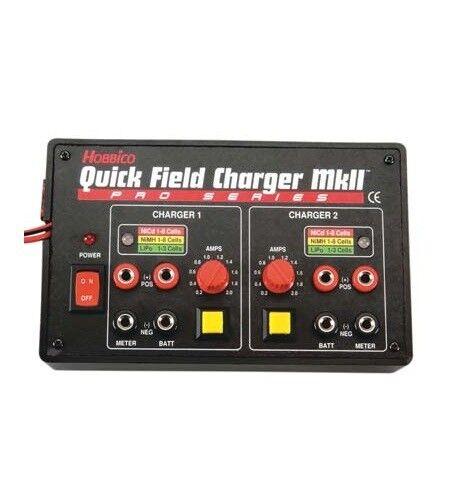 Doble cargadores bateria del campo hobbico liberaci  n r  pida bereich cargador