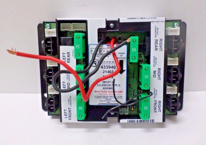 Lippert 433940 Controller for 6-point Type 3 RV Leveler System 5w  8x5 25x2 5