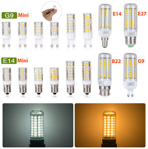 E27 E14 B22 G9 LED Maïs Ampoule 3W6W9W12W15W 5730SMD Blanc Chaud/Froid Lamp 220V