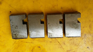 """GAS BSP 1/2"""" x 14 RH, type S Coventry chaser set for 1"""" Coventry Diehead. AH /JM"""