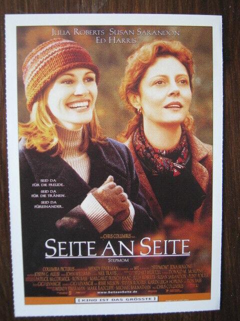 Filmplakatkarte / moviepostercard  Seite an Seite  Julia Roberts, Susan Sarandon