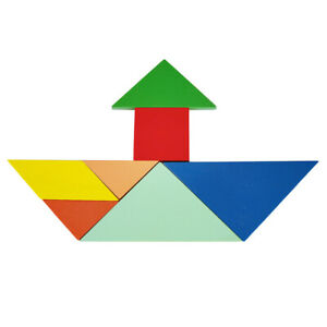 Details about Kids Montessori Wood Geometric Puzzles Play Set Geometric  Shapes for Ages 3+