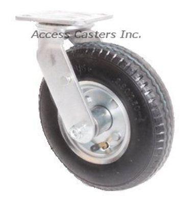 """5PRMNS3 5/"""" Swivel Plate Caster for Rubbermaid® Tilt Trucks Non-Marking Wheel"""