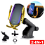 thumbnail 16 - Wireless-Automatic-Clamping-Smart-Sensor-Car-Phone-Holder-and-Fast-Charger-10W