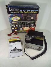 Cobra 29 NW LTD Classic CB Radio With Cobra Mic, Original Box.