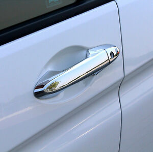 ABS Chrome Door Handle Cover Trim 8pcs For Honda City 2014 2015 2016 ...