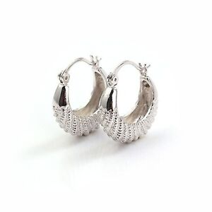 childrens white gold earrings 14k white gold filled silver childrens jewelry caterpillar 6603