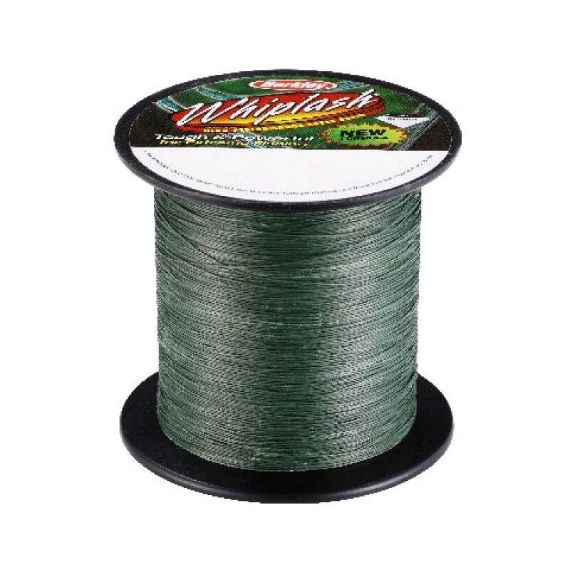 Berkley Whiplash Green 2000m Big Spools - All Sizes 0.06-0.40mm   20-250 Lbs