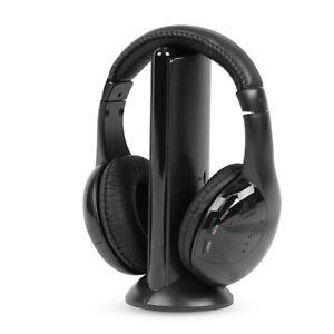 5IN1-Wireless-Headphone-Casque-Audio-Sans-Fil-Ecouteur-Hi-Fi-Radio-FM-TV-MP3-MP4