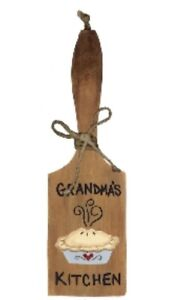 GRANDMA-039-S-KITCHEN-wood-decorative-Country-Paddle-grandmother-Wall-Decor-sign