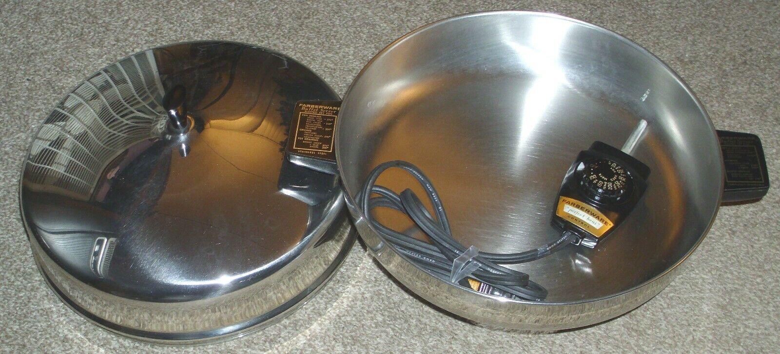 Couleurrware électrique Poêle Buffet modèle de serveur 335-A 12  Rond en Acier Inoxydable