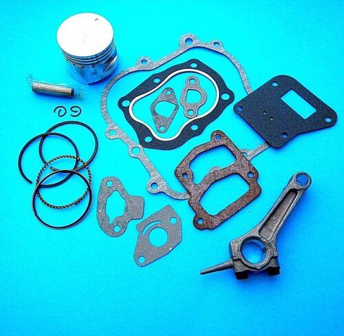 Engine Overhaul Kit,Conrod,Piston,Rings,Gasket Set Fits Honda 2.5HP G100 Engine