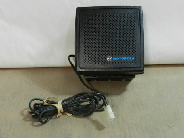 Motorola HSN9B External Mobile Radio Speaker No Brackets