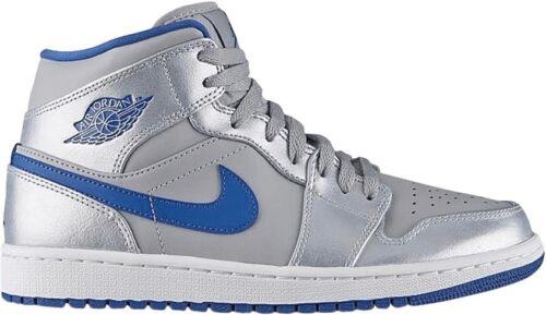 Air Mid 025 Nike Hombres 1 Jordan 5 Azul Sport Tama Zapatos 554724 8 o Wolf Gris dqf1CHx